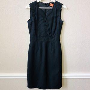 Black linen Tahari dress